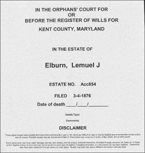 Elburn Genealogy